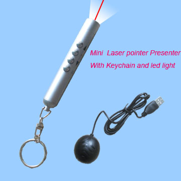 Wireless Mini Laser Presenter