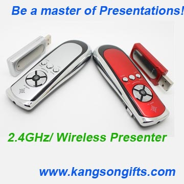 2.4GHz smartpointer Wireless Presenter with Mouse
